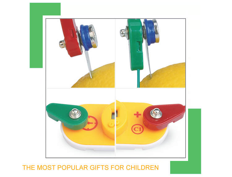 Wholesale 4 on 1 experiment kids diy educational science toy