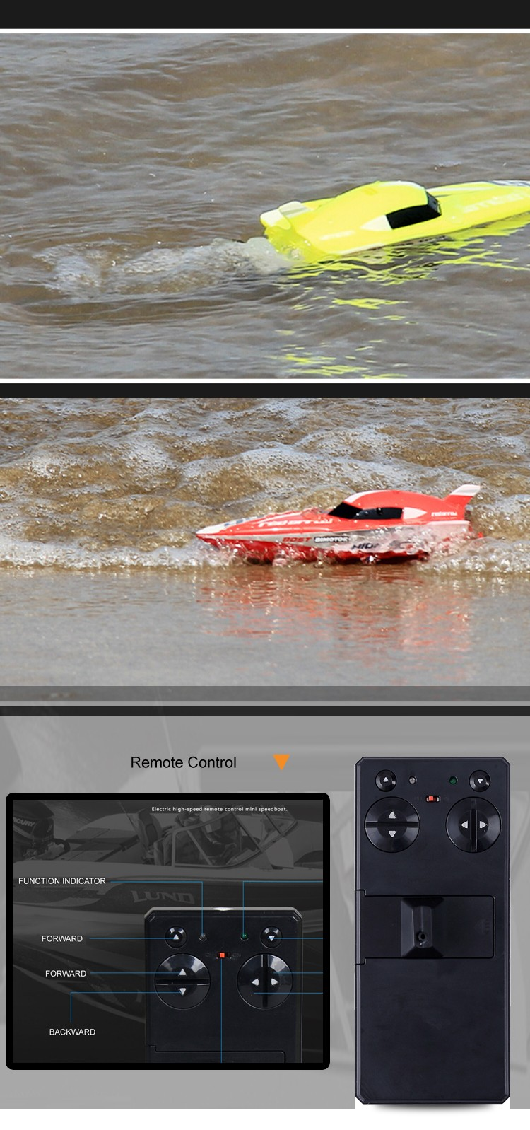 fast RC boats