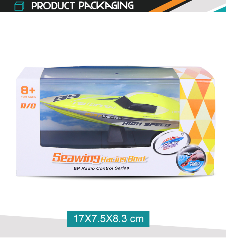 Racing mini waterproof model toy high speed electric fast rc boat