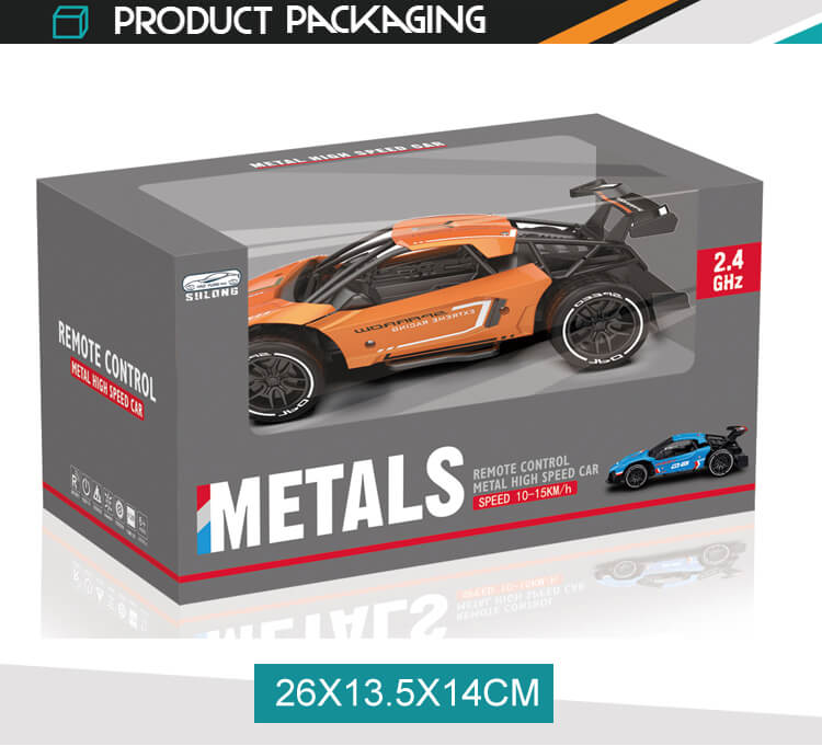 Factory 2.4g stunt vehicles toy high speed rc 1/16 die cast metal cars