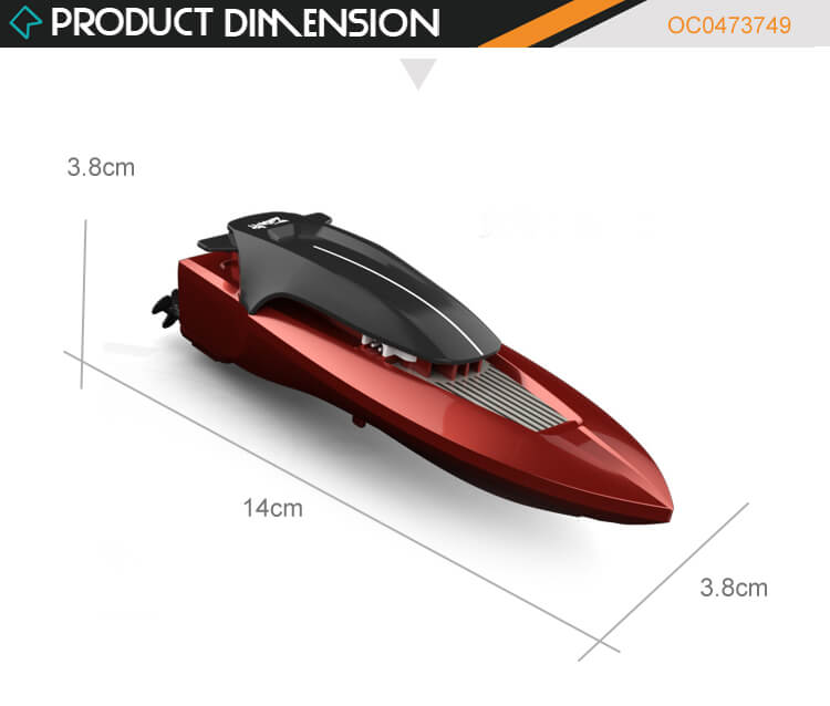 Hot sale boy plastic electric speed toy rc remote control boats