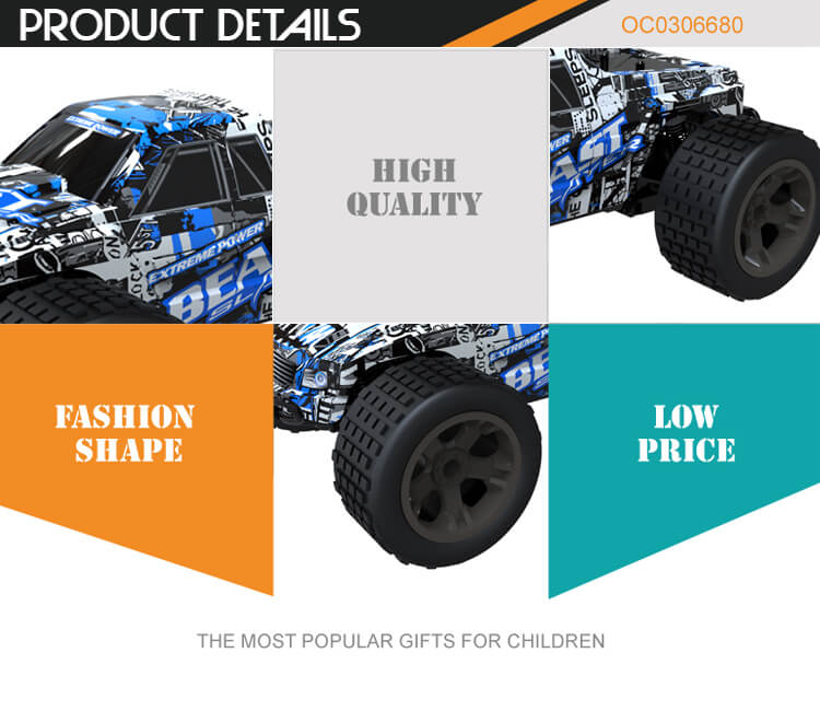 Wholesale low price 1:18 2.4G 4CH toy rc remote control cars fast