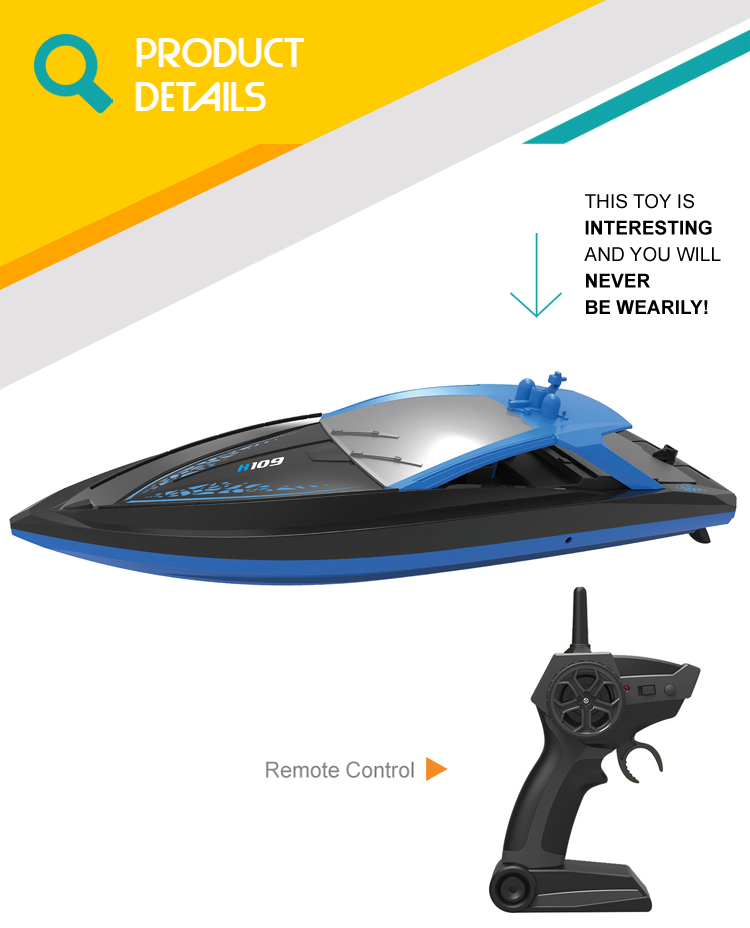 1/33 electric speed ship toys rc racing remote control boat for kids