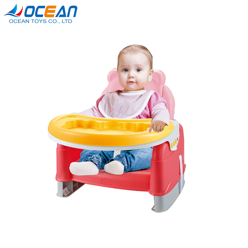 2 in 1 foldable portable eating table feeding baby dinner chair