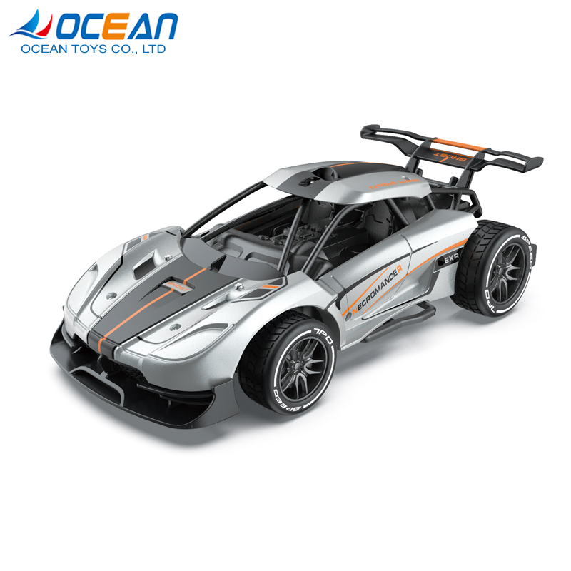 Wholesale 2019 2.4g race metal toy high speed diecast rc car 1/16