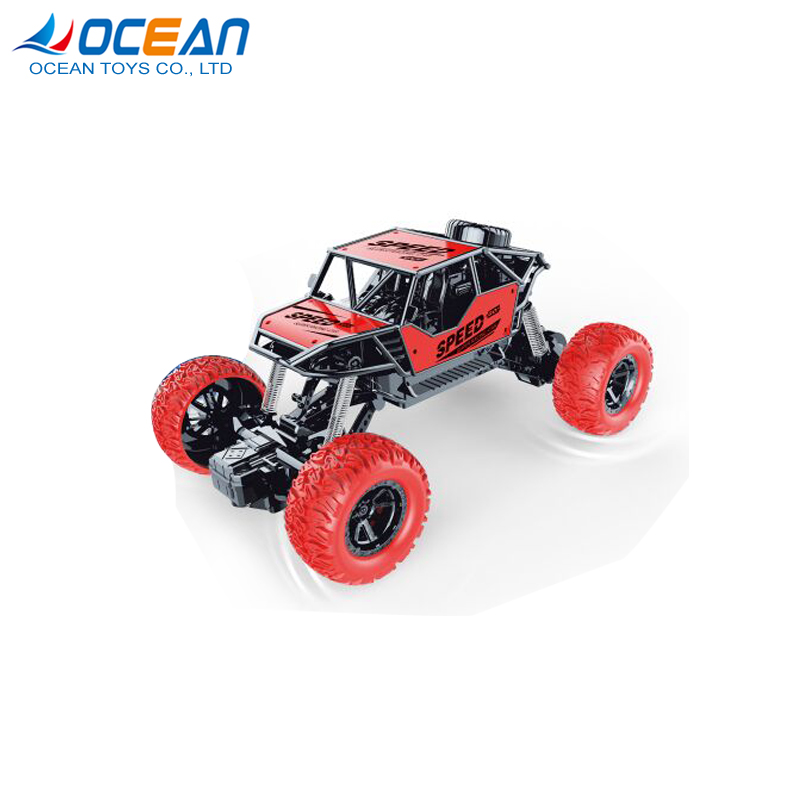 Wholesale alloy metal die cast climbing stunt rc toy cars 1/18