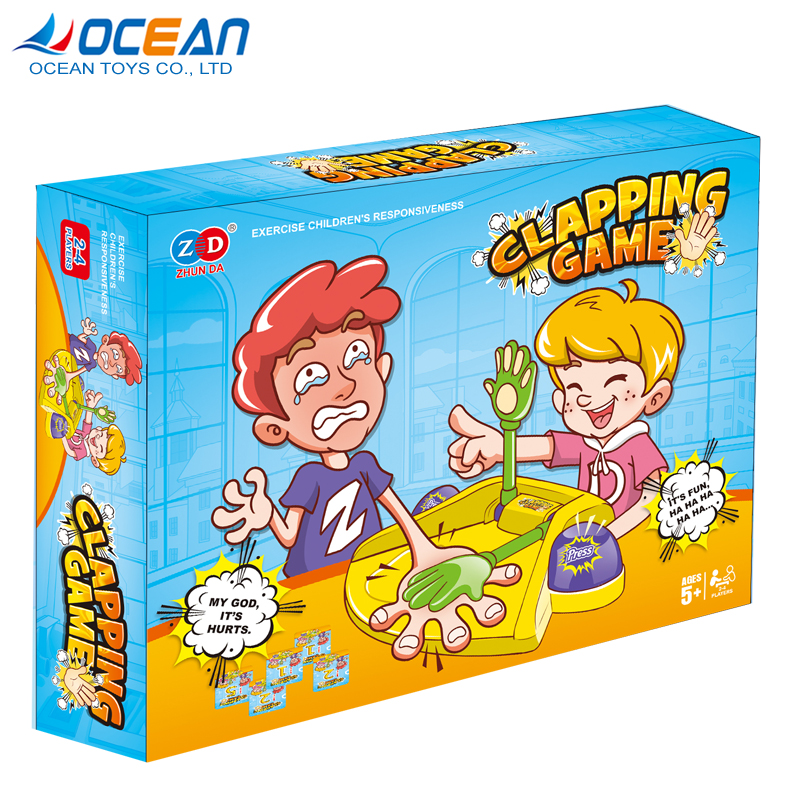 Wholesale funny clapping toy kids party board play card game for family