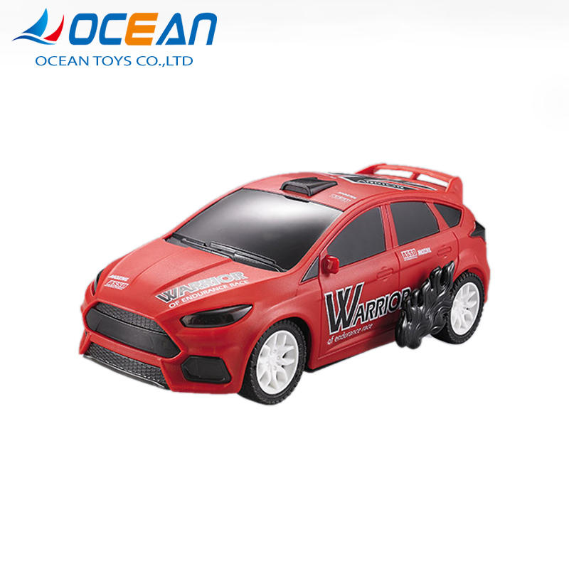Wholesale bounce battle police toys kids rc cars with light
