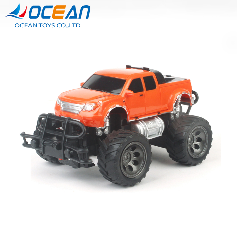 Hot sale 4ch pickup truck racing plastic small toy rc off-road car