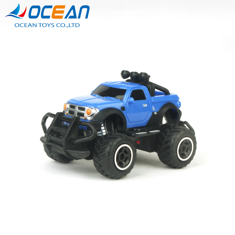 Manufacturer 4 channel high speed off road toy rc pickup truck