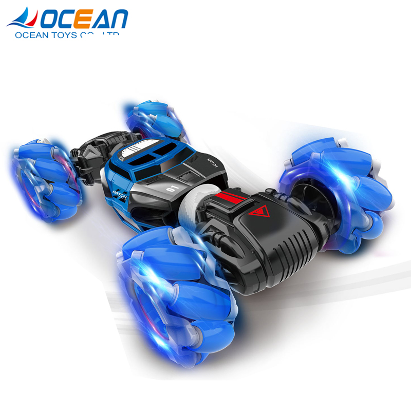 Wholesale 1/16 twist climbing rc gesture control - double-sided stunt car