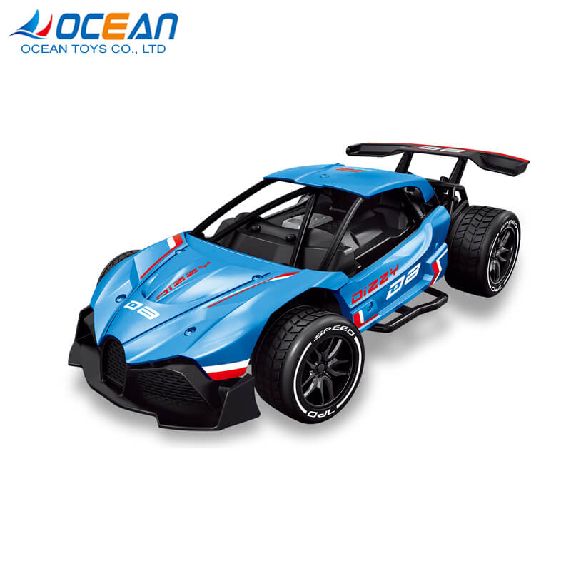 Wholesale diecast vehicles toy high speed fast remote control car 1/16 for kids
