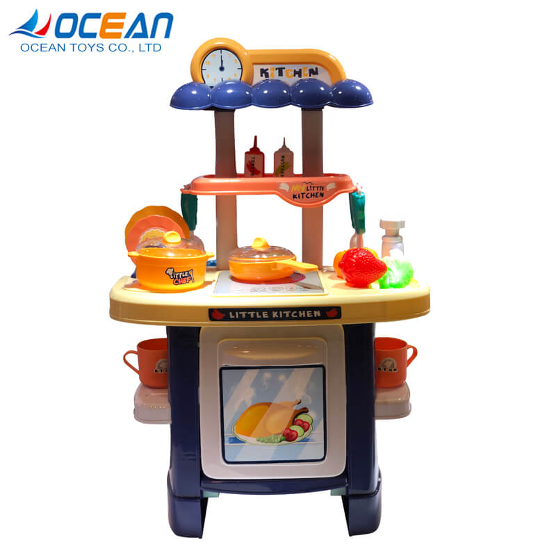 New arrival toys play kitchen pretend cooking appliances accessories jouet for girls and boys