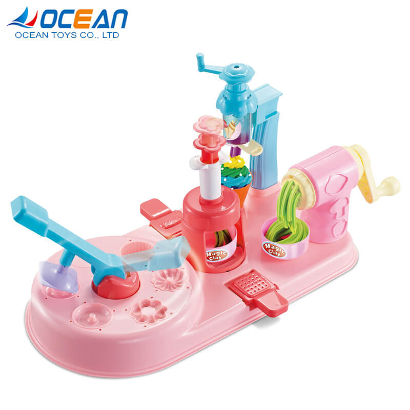Multifunction dough cutters accessories non-dry plasticine modeling dough toys