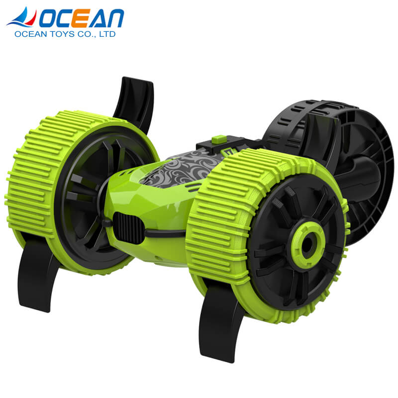 remote control amphibious 2.4G stunt car for land and water vehicle