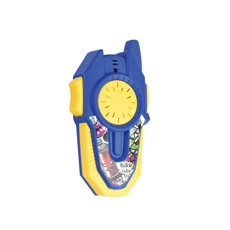 Beneficial funny single channel kids toy two walkie talkie set 100m