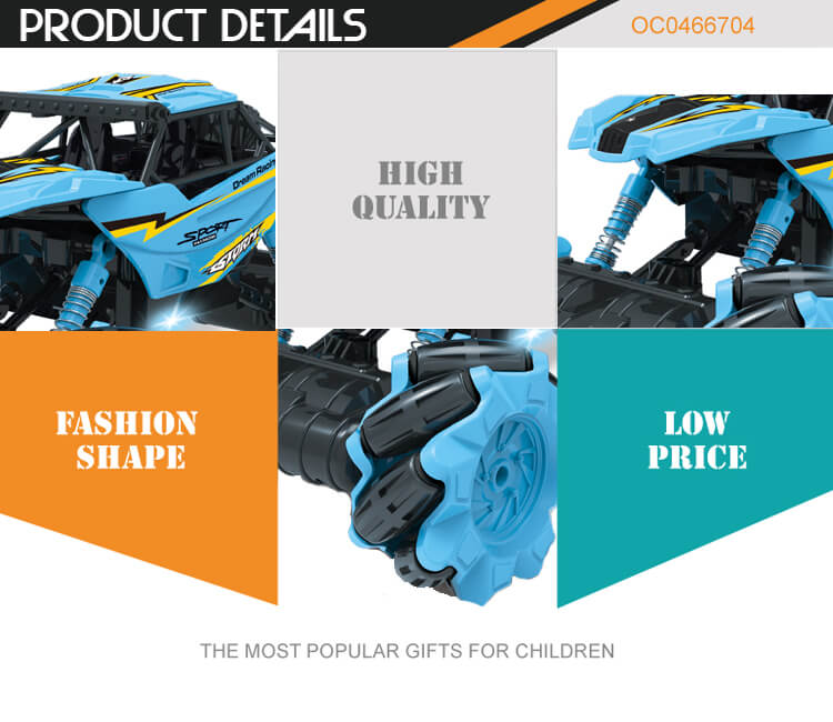 1:16 high speed remote control hand gesture sensing rc stunt car with music