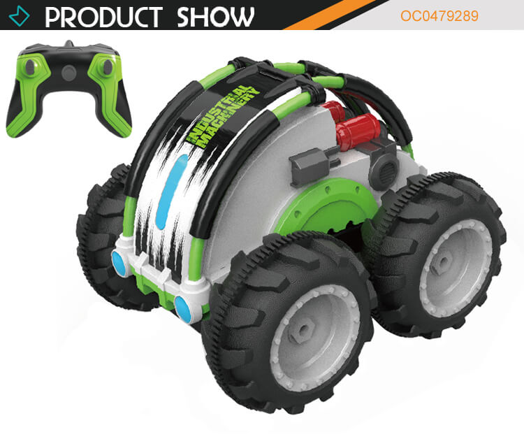 1:24 2.4GHz water and land amphibious remote control 360 stunt toy