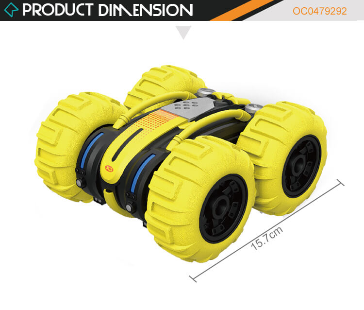 1:24 Amphibious child electric car with remote control rc stunt car toy kids