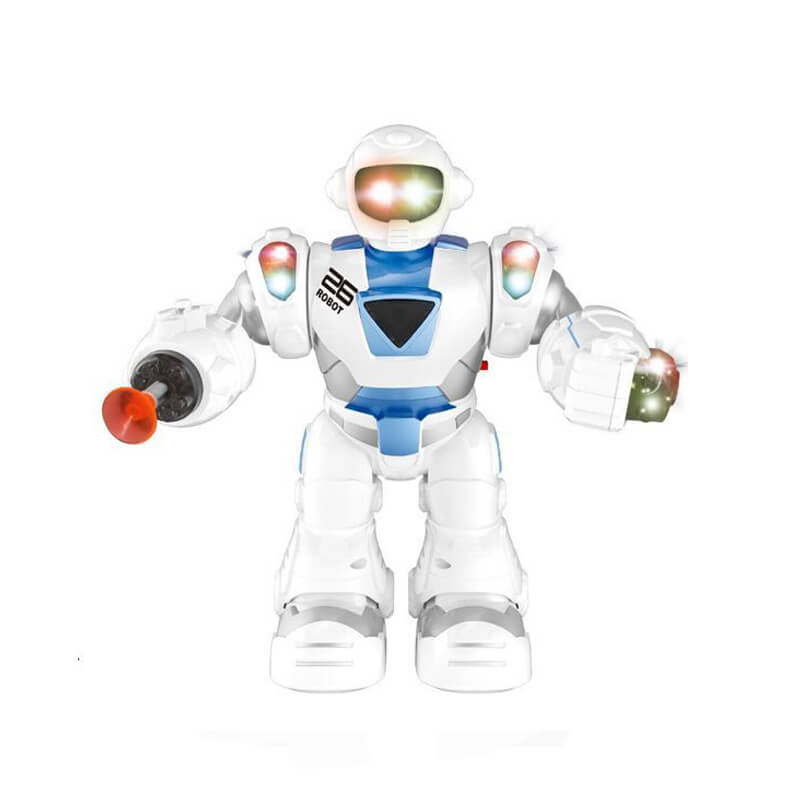 Super educational battery operation robot_toy kids with light music