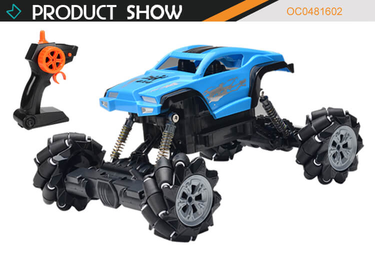 2.4G Simulation climbing high quality electric rc car toy with light music