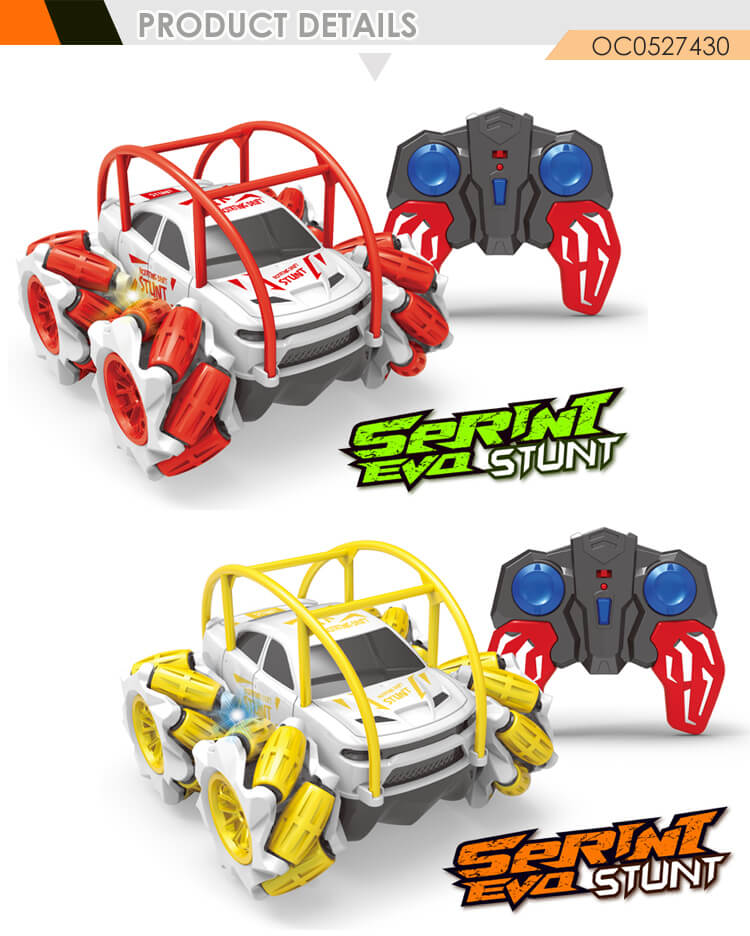 Multifunction rolling 360 degrees rc cars hobby remote control stunt car